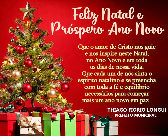 A Prefeitura Municipal Deseja A Todos Rionovenses Um Feliz
